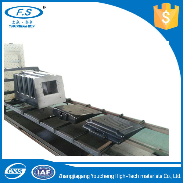 ECTFE coating refrigerator mold